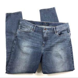 Lucky Brand Brooke Legging Jeans Sz 14/32 Ankle